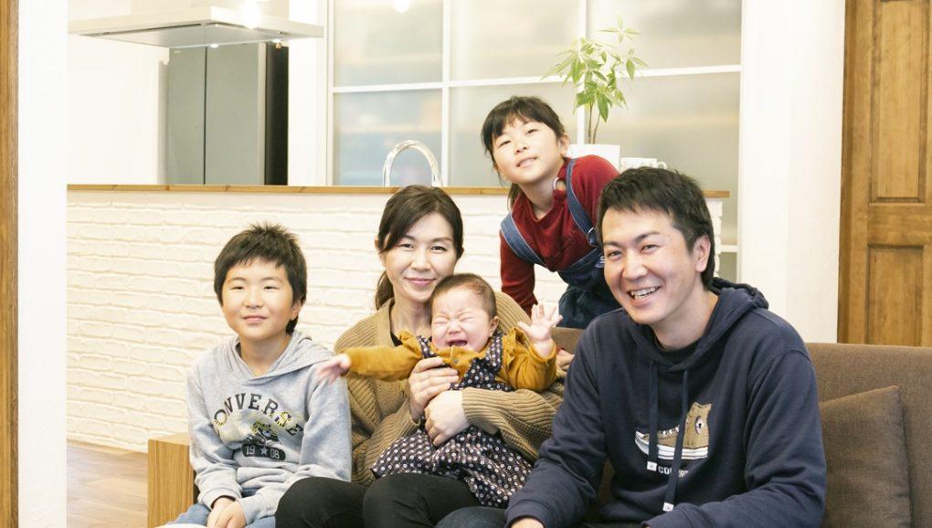 Fさま家族写真
