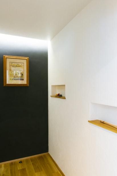小倉オフィスショールーム廊下