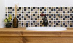 八幡西区吉祥寺町モデルハウス洗面台のタイル