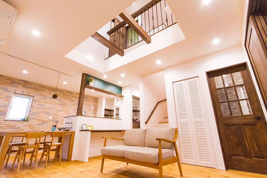 スムーズに穏やかに。ブルックリンスタイルの家