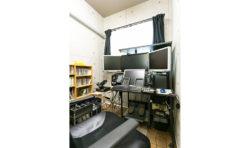 ご主人自慢の書斎スペース