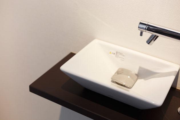 シンプルさがおしゃれな手洗い