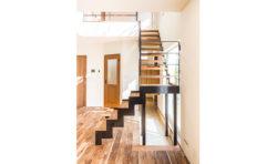 お施主さんと一緒に作り上げたお気に入りの階段。