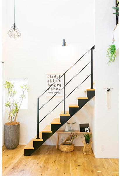 スッキリとした階段