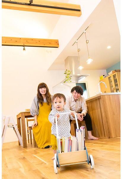 家族みんなのお気に入りの国産の無垢の床