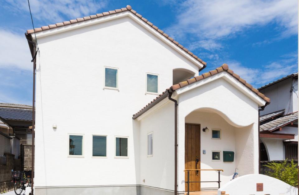 6.漆喰を使ったきれいな家づくり画像