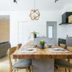 造作タイニングテーブル&カウンターがお洒落な平屋サムネイル3