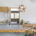 造作タイニングテーブル&カウンターがお洒落な平屋サムネイル6